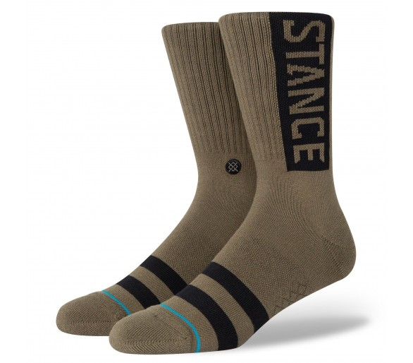 Chaussettes Staples OG (Army) - Stance