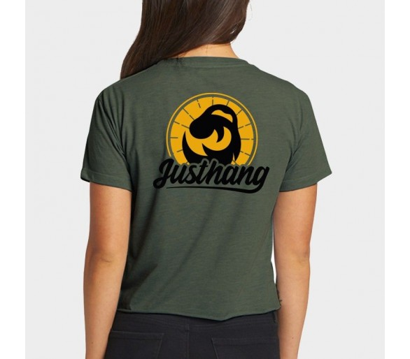 Just Sun Crop Tee donne - Justhang