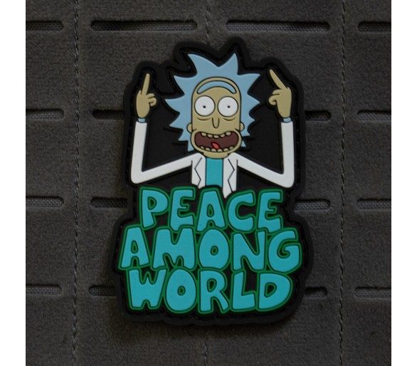 "PVC Patch ""Peace Among World"" - The Patches"