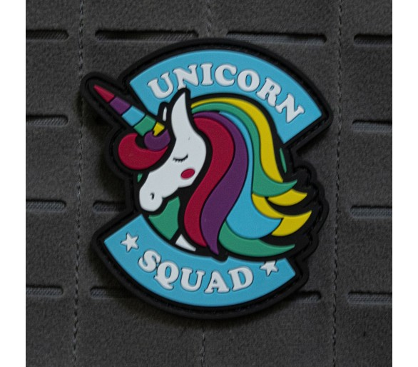 "PVC Patch ""Unicorn Squad"" - The Patches"