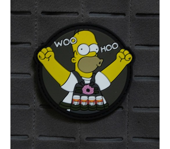 "PVC Patch ""Woo Hoo"" - The Patches"