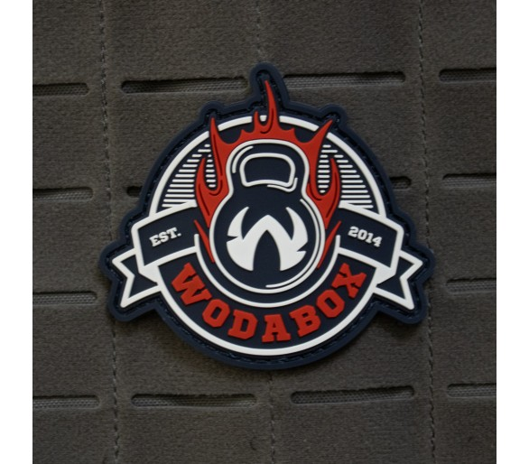 "PVC Patch ""Wodabox Fire"" - The Patches"