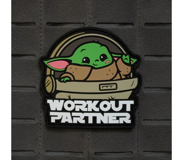 "PVC Patch ""Workout Partner"" - The Patches"
