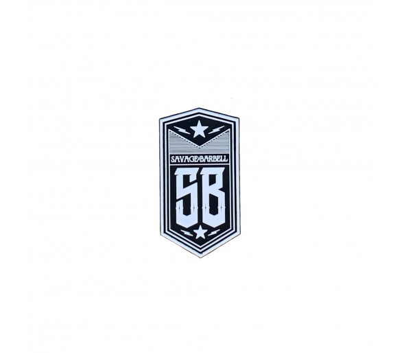 "PVC Patch ""SB Badge"" - Savage Barbell"