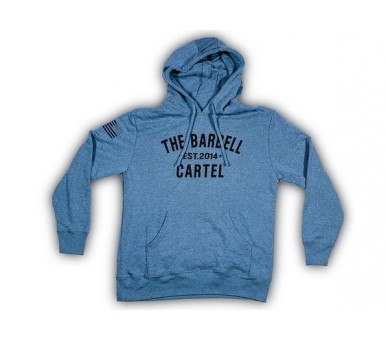 The Barbell Cartel - Classic Logo Hoodie Unisex Charcoal
