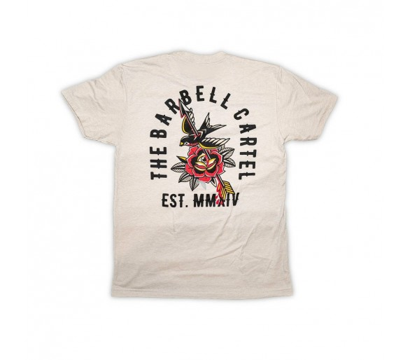 T-shirt Homme American Traditional - The Barbell Cartel