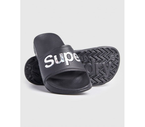 Claquettes Holo Infil Pool Slide - Unisex Superdry - 1