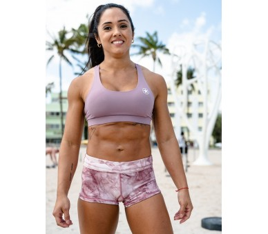 Booty Short Femme (Mauve Tie and Dye) Savage Barbell - 4