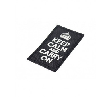 Patch Tissus - Keep Calm & Carry On Patchs - 2