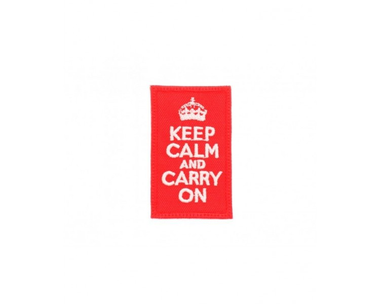 Patch Tissus - Keep Calm & Carry On Patchs - 3