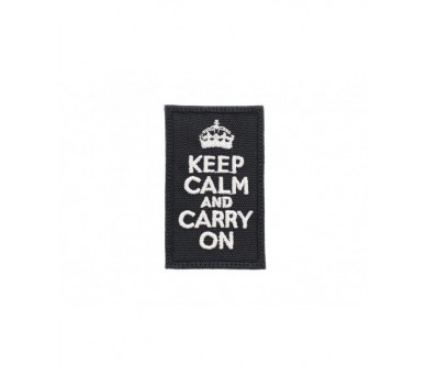 Patch Tissus - Keep Calm & Carry On Patchs - 1