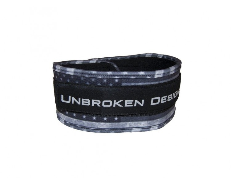 "Stars and Stripes 4 ""Ceinture d'haltéro Unbroken Designs idéal Crossfit"