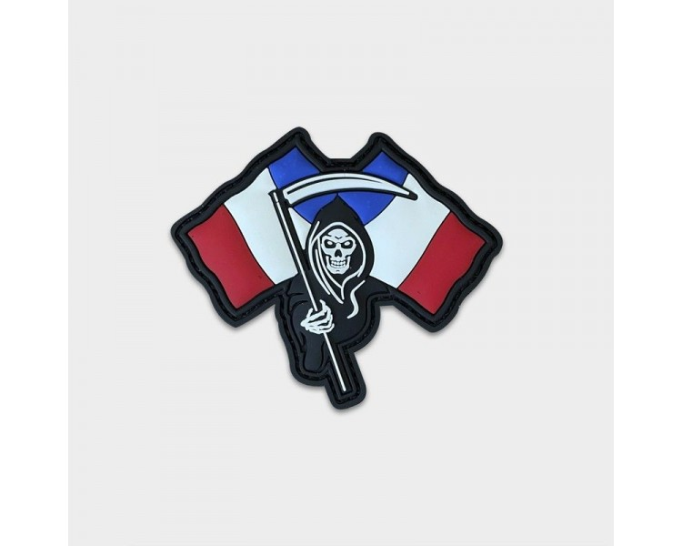 """PVC Patch """" French Death"""" - Justhang Justhang - 1"""