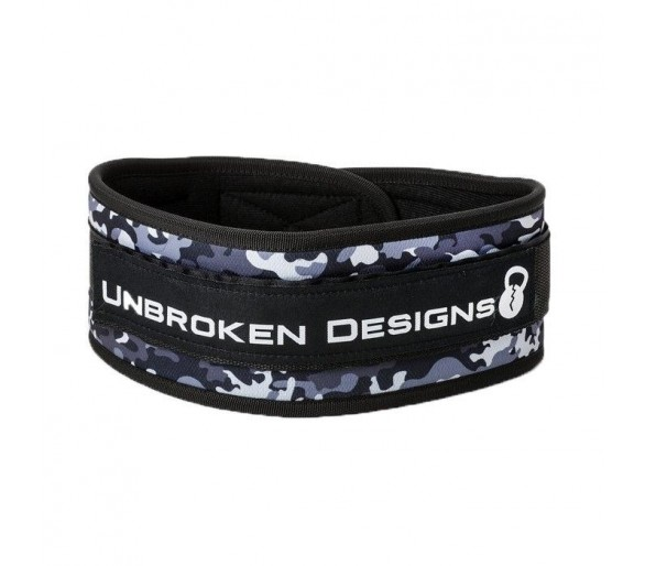 "Camo 4"" Lifting belt Unbroken Designs"