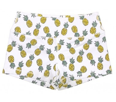 Booty Shorts Women (Pineapple Express) Savage Barbell Savage Barbell - 2