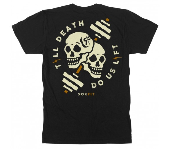 Till Death, Do Us Lift TShirt Men - Rokfit