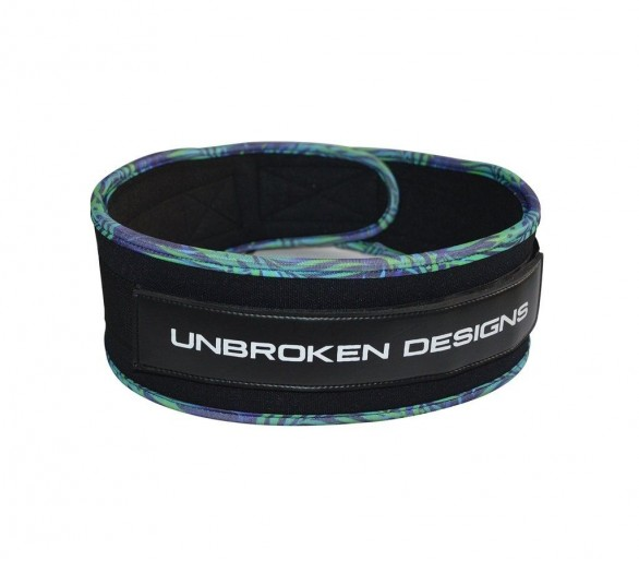 "Paradise City 4"" Lifting belt Unbroken Designs"