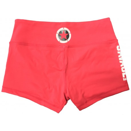 Booty Short Mujer (RED) Savage Barbell