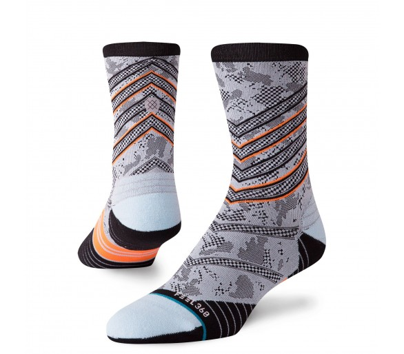 Socks Run ASPIRE CREW Bleu- Stance